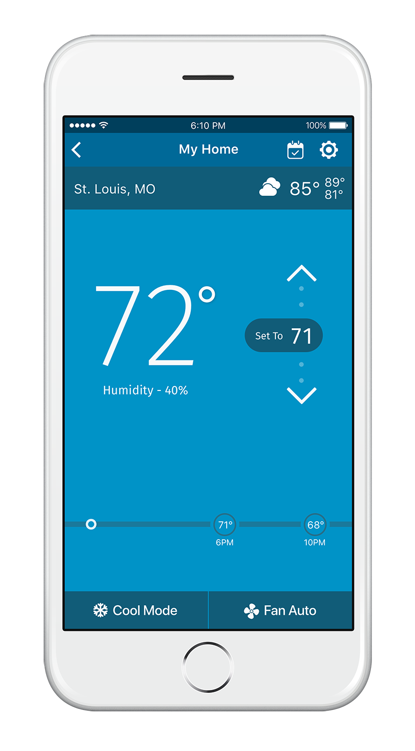 Sensi Wi-Fi Programmable Thermostat for Connected Homes