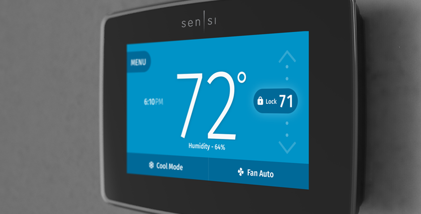 Features & Controls | Prevent accidental changes with Sensi