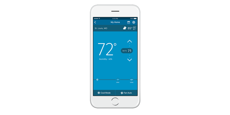 Sensi Wi Fi Programmable Thermostat For Connected Homes Sensi